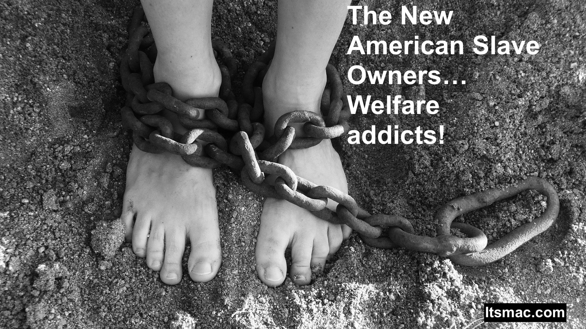 The New American Slave Owners. Welfare addicts!