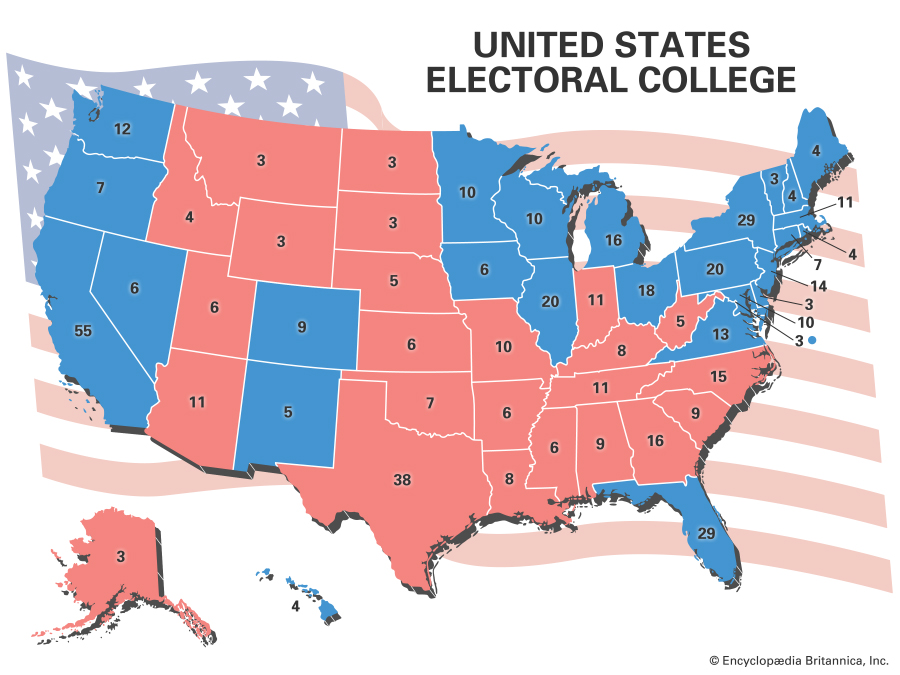 BLM GROUP IS THE ENTIRE REASON WE HAVE THE ELECTORAL COLLEGE!