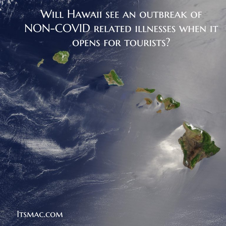WILL HAWAII HAVE ANY IMMUNITY TO STAY HEALTHY WHEN IT OPENS?