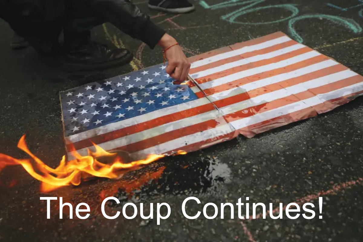 THE COUP CONTINUES AS THE DEMOCRATS DO WHAT THEY DO BEST…LIE, CHEAT & STEAL!