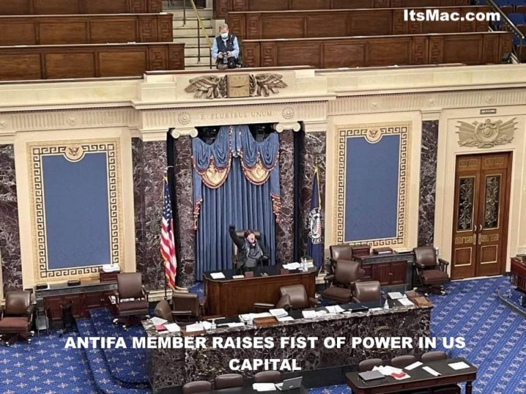 ANTIFA TAKES OVER THE CAPITOL BUILDING!