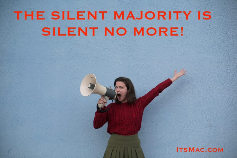 THE SILENT MAJORITY IS SILENT NO MORE!  PATRIOTS STAND UP AGAINST EVIL!