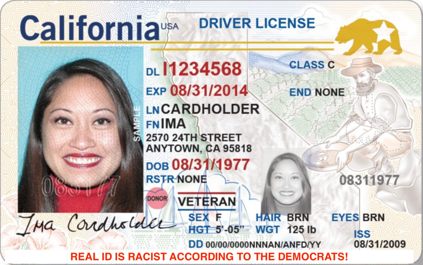 """THE US GOVERNMENT PUSHING THE """"REAL ID"""" WITH A NEW DEADLINE.  BUT WHAT ABOUT RACISM? JIM CROW 2.0?"""
